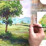 Пишем акрилом. Как использовать зеленый цвет в живописи?»