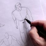 Рисуем фигуру человека. Части 1, 2 и 3