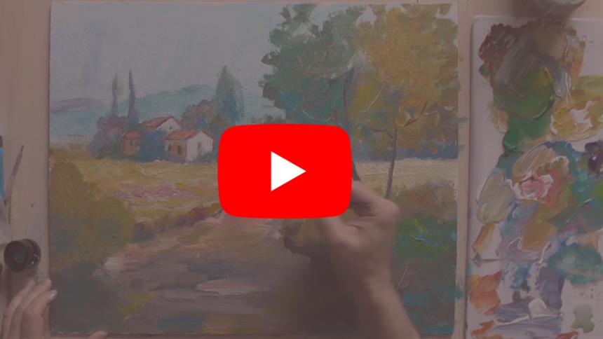 Урок живописи акрилом от  Жиляева Александра
